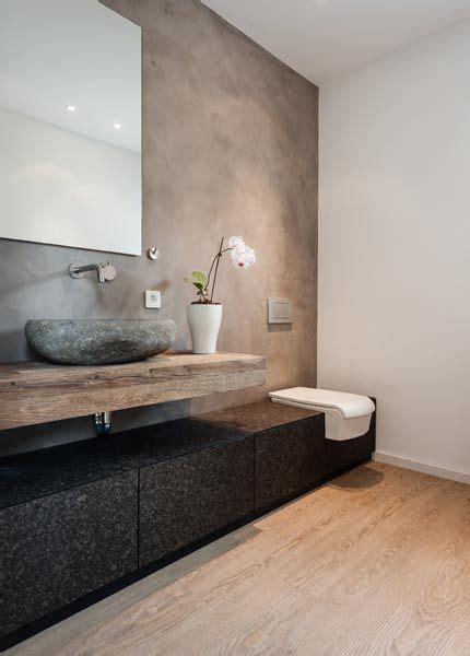 Bad Modern Braun by Modernes Badezimmer Im Rustikalen Landhausstil łazienki