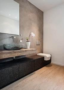 Moderne Badezimmer Ideen : modernes badezimmer im rustikalen landhausstil bathroom ~ Michelbontemps.com Haus und Dekorationen