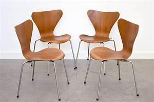 Arne Jacobsen Stühle : vintage serie 7 st hle arne jacobsen fritz hansen designklassiker schweiz ~ Eleganceandgraceweddings.com Haus und Dekorationen