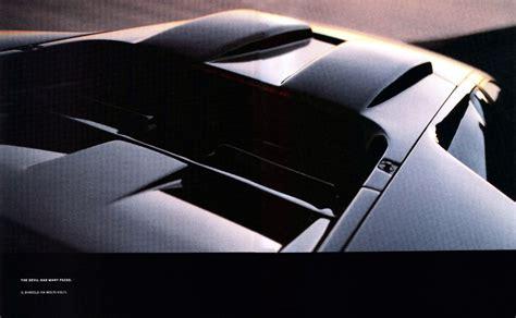 2000 Lamborghini Diablo brochure