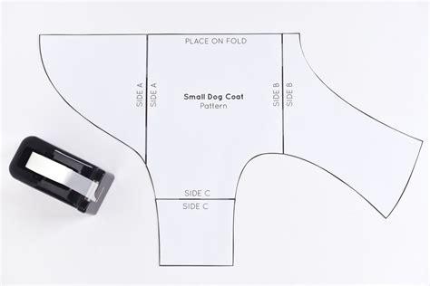 sewing pattern   warm weatherproof dog coat