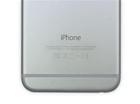 iphone model a1586 iphone 6 plus拆解拆机详图 pc6资讯
