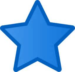 Image result for a picture of a blue star