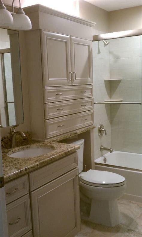 cabinet   toilet area