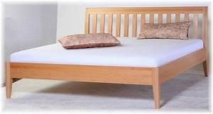 Modernes Bett 180x200 : bett doppelbett buche 180x200 massivholz modernes desing ~ Watch28wear.com Haus und Dekorationen
