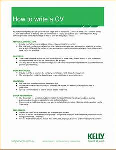 5 how to write a professional cv lease template With how to make a professional cv