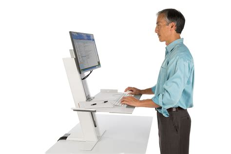 humanscale standing desk humanscale quickstand office furniture