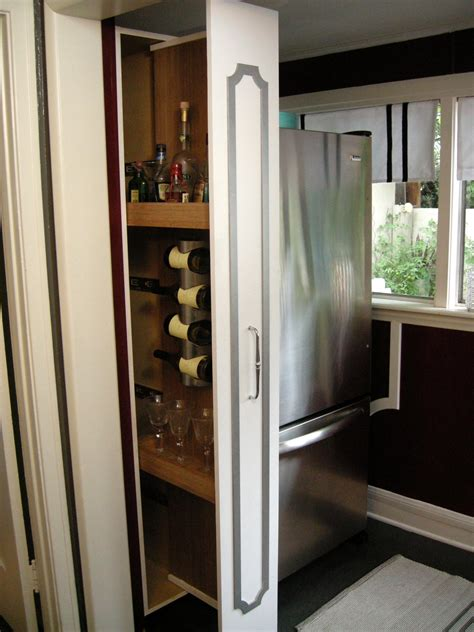 cabinet pull out how to build a vertical pull out cabinet hgtv