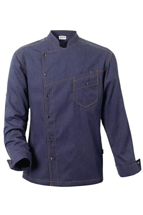 veste de cuisine bragard veste de cuisine district bleue denim