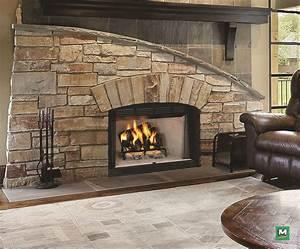 this, 36, u0026quot, , wood, burning, fireplace, presents, a, , u0026quot, big, box, u0026quot, , look, with, an, oversized, brick, u2026