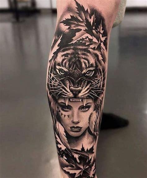ultra coole tiger tattoo ideen zur inspiration