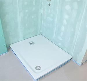 Etancheite Bac A Douche : pose d 39 un receveur de douche ~ Premium-room.com Idées de Décoration
