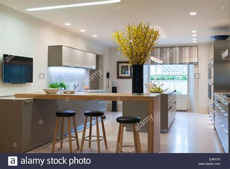 kitchen design breakfast bar modern bulthaup kitchen with breakfast bar and stools 4400