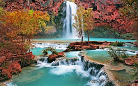 wallpaper waterfall  windows  wallpapers