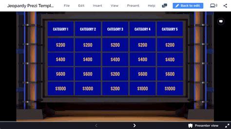 interactive jeopardy game  prezi  prezibase
