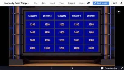 Jeopardy Template Prezi Templates Interactive Prezibase Join