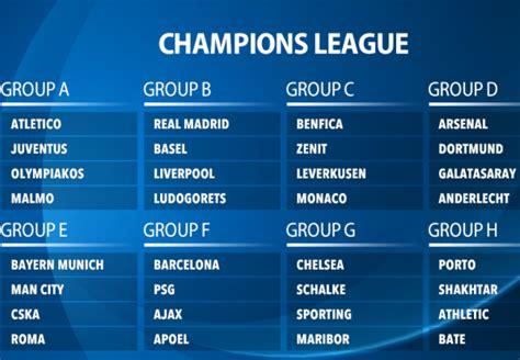 testo uefa chions league chions league stage schedule les baux de provence