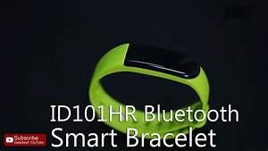 Id 101 Smart Bracelet Mode Demploi