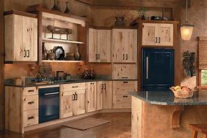 schuler cabinetry rustic kitchen seattle by lowe39s With kitchen cabinets lowes with metal wall art mountains