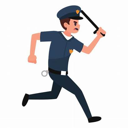 Policeman Polizist Jagt Transparent Pngimg