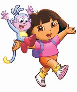American top cartoons: Dora and boots