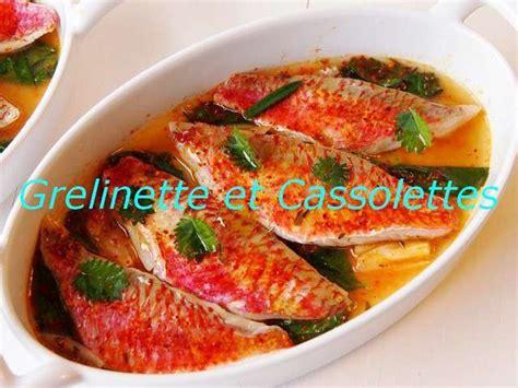 cuisiner des rougets recettes d 39 escabèche et rougets