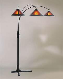 Nova, Lighting, 4212bz, Mica, 3, Light, Arc, Floor, Lamp