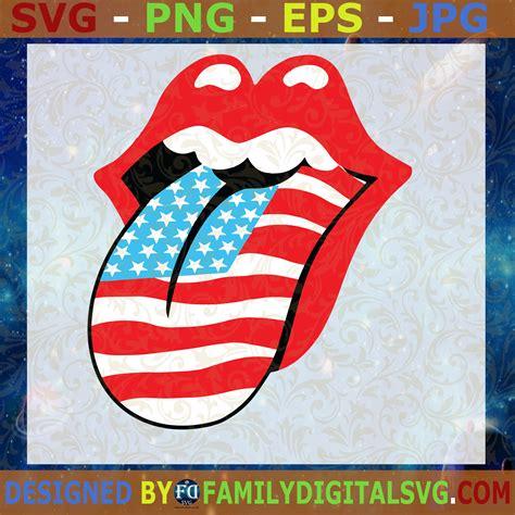 4Th Of July Lips Svg Free  – 444+ SVG File Cut Cricut