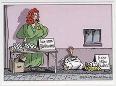 Witzige Sprüche Postkarte Eier vom Huhn Lustig