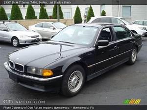 Jet Black - 1997 BMW 7 Series 740iL Sedan - Black Interior