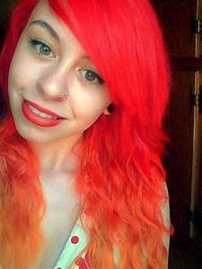 Bright Red Ombre Hair Tumblr | www.pixshark.com - Images ...