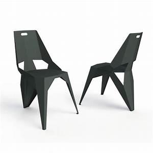 Chaise Style Industriel : chaise style industriel plexus zhed zendart design ~ Teatrodelosmanantiales.com Idées de Décoration
