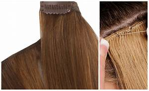 Difference Between Weave Hair Extensions And Clip In Hair