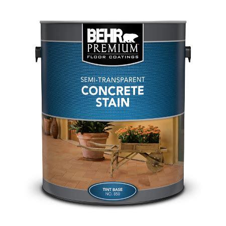 semi transparent concrete stain behr premium behr
