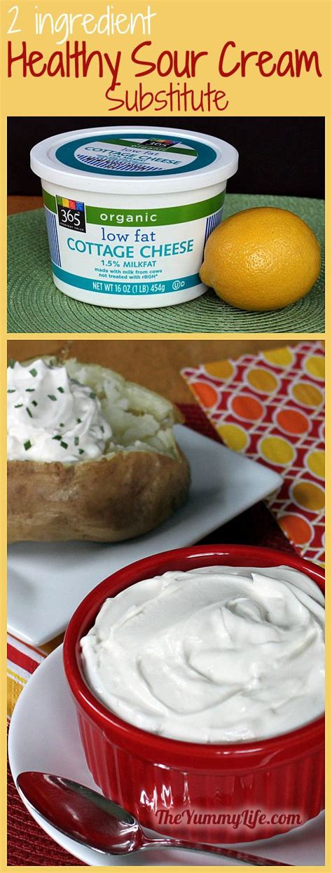 substitue for sour healthy sour cream substitute