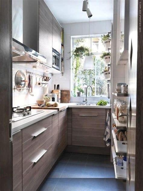 beautiful small kitchen wooden theme small house kitchen ideas dekorasi dapur