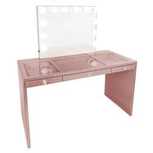 gold vanity table set impressions vanity co slaystation plus premium vanity