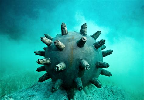 Time Bomb - Underwater Sculpture by Jason deCaires Taylor