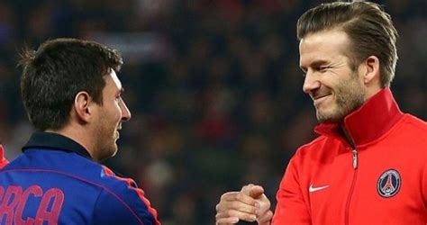 Bekhems grib redzēt Messi Amerikā - parsportu.com