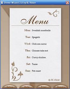 Modele De Menu A Imprimer Gratuit : modele carte restaurant imprimer gratuit le garde manger ~ Melissatoandfro.com Idées de Décoration