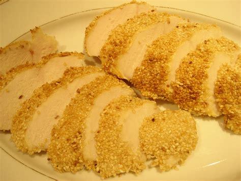 cuisine basse temperature philippe baratte blancs de poulet en croûte de sésame doré cuisson basse