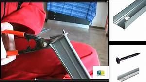Couper Rail Placo : pose placo 1 youtube ~ Melissatoandfro.com Idées de Décoration