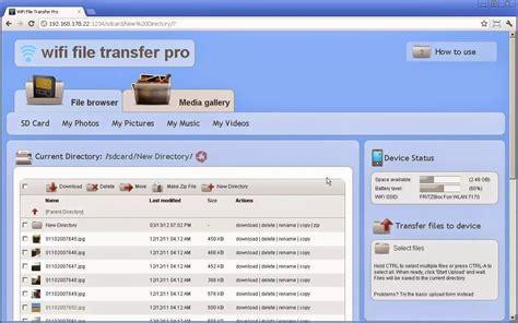 Wifi File Transfer Pro V1.0.9 Full Version Android