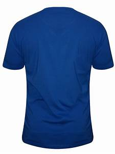 Buy T-shirts Online Bushirt Royal Blue Round Neck T