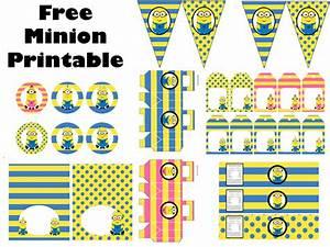 FREE Minion Party Printable - Birthday Party Ideas & Themes