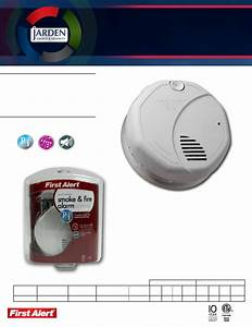 First Alert Smoke Alarm Sa320cn User Guide
