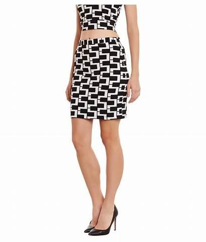 Skirt Pencil Polyester Street