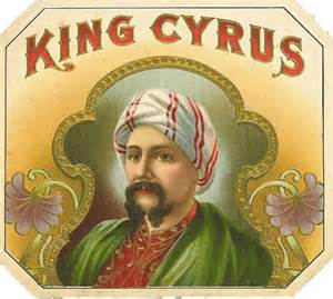 vintage seed packets cerebro king cyrus original antique label