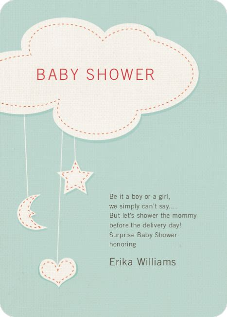 Baby Shower Without - handcrafted mobile baby shower invitations paper culture