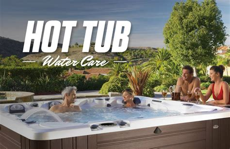 caring for a tub tub water care poolsupplyworld